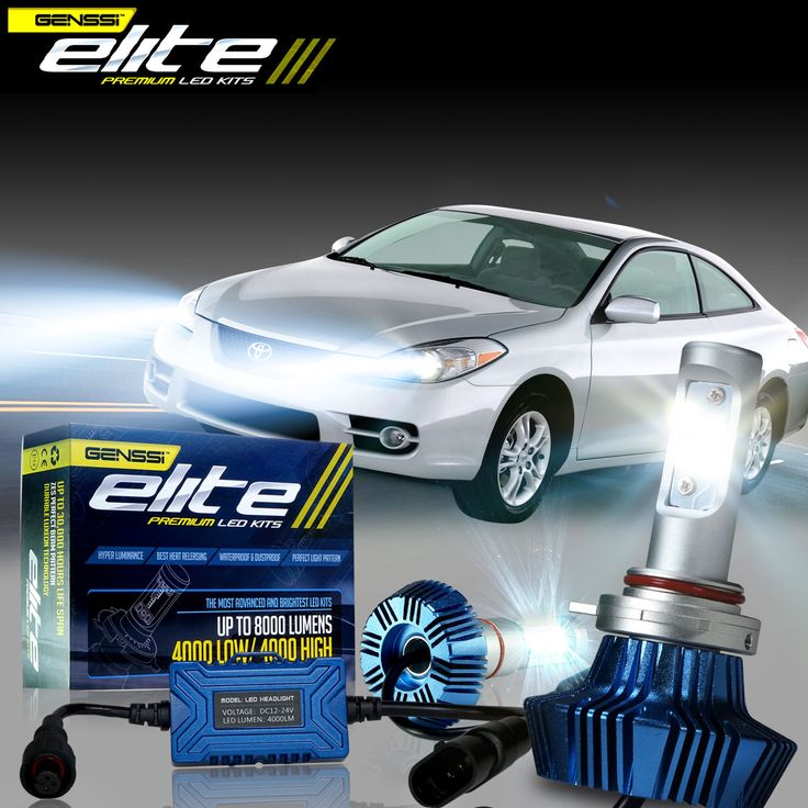 LED headlight bulb kit conversion for Toyota Solara - Click and see more