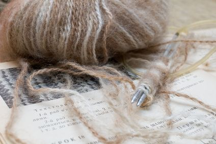How to Card Dog Hair for Spinning