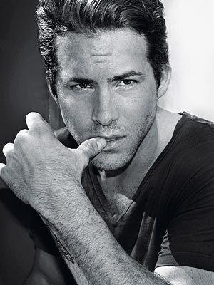 Ryan Reynolds - actor - sexy - hot man - Handsome