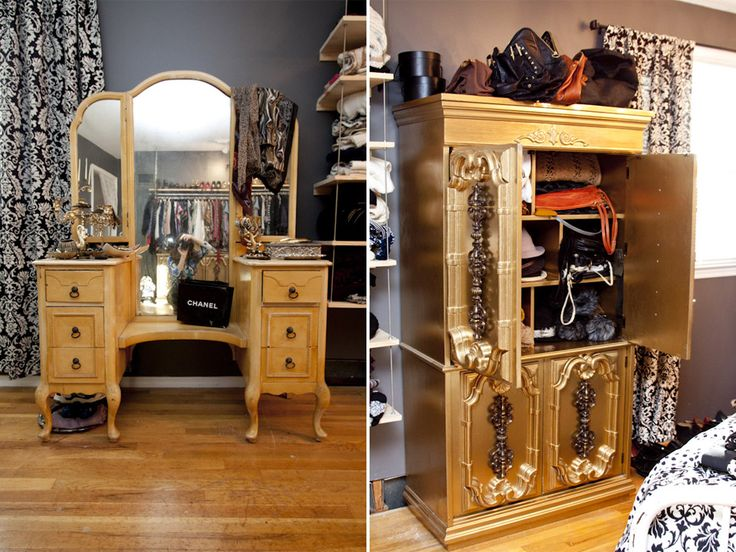 Armoire for accessories! Love it.