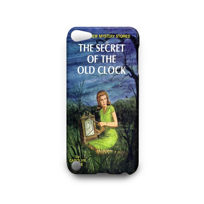 nancy drew books iPod Touch 4th 5th HTC One M7 M8 Case