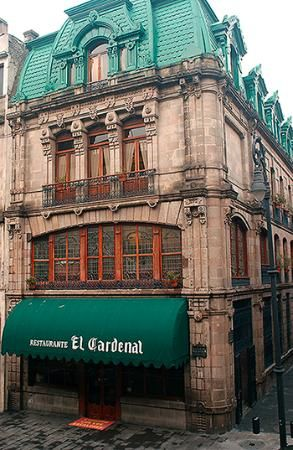 Restaurante El Cardenal en la Ciudad de México. ✿⊱╮