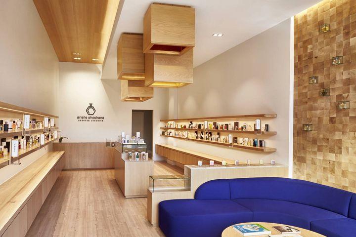 Arielle Shoshana fragrance boutique by CORE, Washington, DC » Retail Design Blog