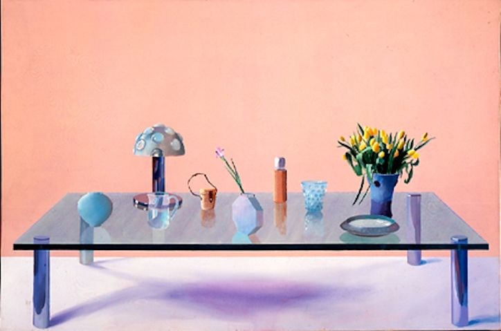 Still Life on a Glass Table, David Hockney, 1971