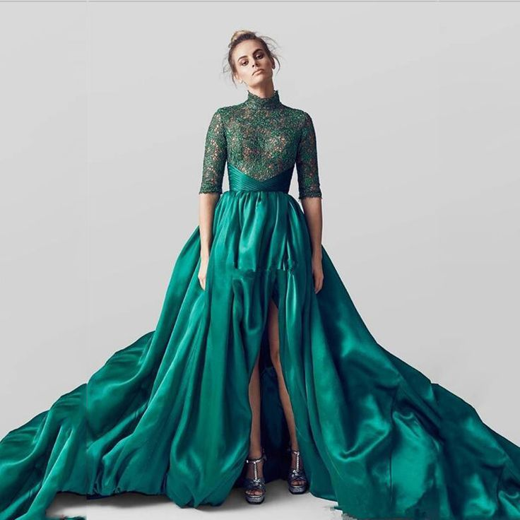 -font-b-Amazing-b-font-Emerald-Ultra-Long-Train-font-b-Evening-b-font-Dresses.jpg (800×800)