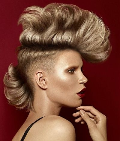 hair styles for bald 30 best images about half side hairstyles on 9013
