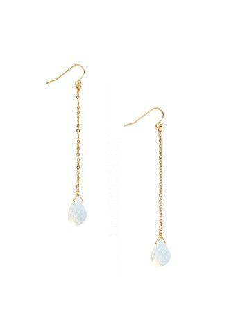 Faux Gemstone Drop Earrings | Forever 21 - 1000147011