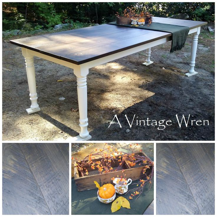 A Custom Made 8 Foot Long Farm Table, From Our Rustic, Simplicity  Collection.