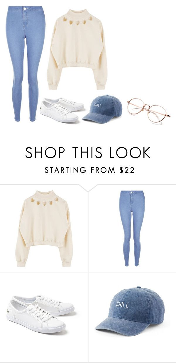 """""""Korean Inspired"""" by ifrancesconi on Polyvore featuring New Look, Lacoste and SO"""