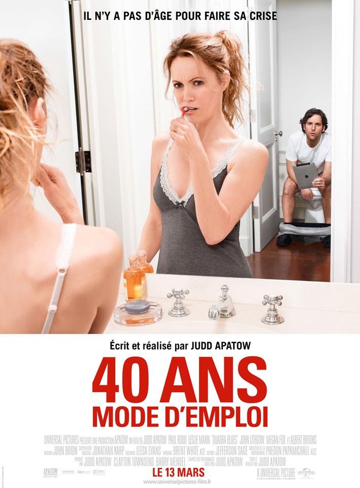 40 ans mode d'emploi > Site officiel VF  -  Un film de Judd Apatow avec Paul Rudd, Leslie Mann