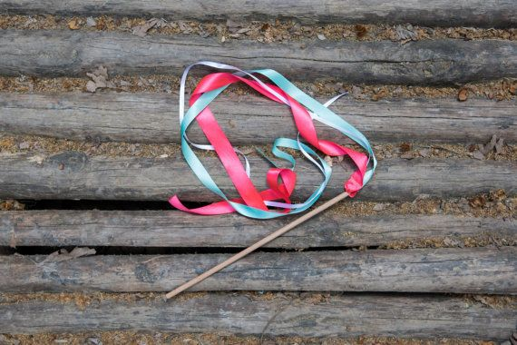 40 Ribbon Wands  Birthday Party Favors  Birthday by beigebois