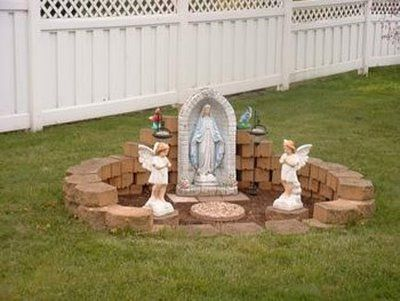 42 best Grotto Mary Garden Ideas images on Pinterest Prayer