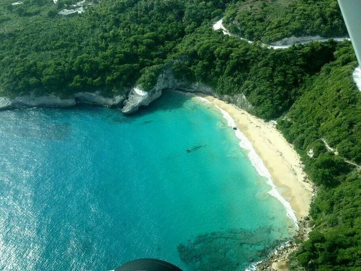 The beautiful coastline of Jeremie, Haiti.