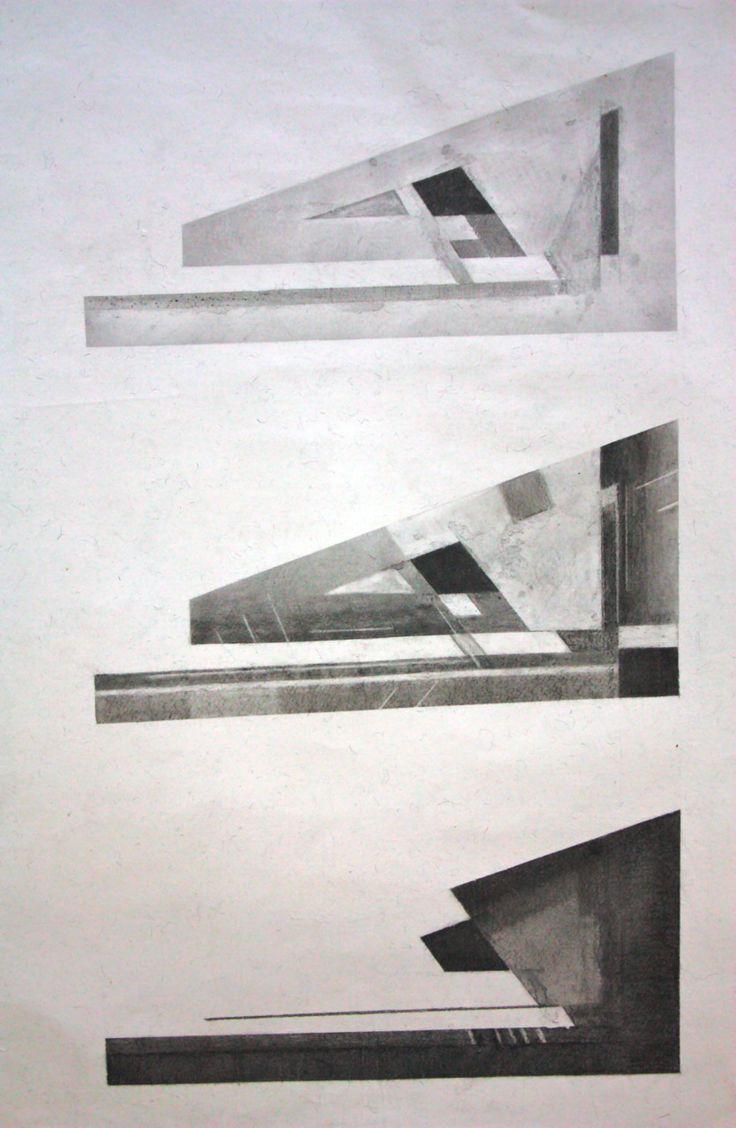 Charcoal Light Study, Film + Photography School. Jamiee Ma Williams