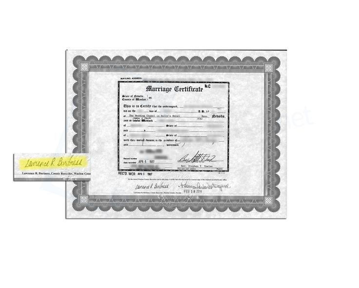 23 best State of Nevada Sample Apostille images on Pinterest - sample marriage certificate