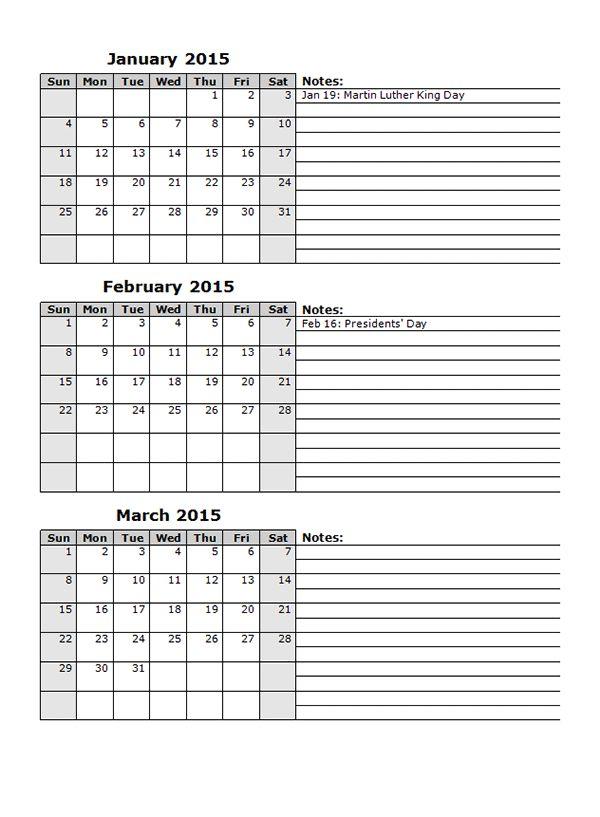 The 25+ best 2015 calendar template ideas on Pinterest 2017 - attendance calendar template