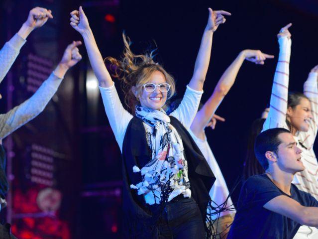 ¡Danielle Arciniegas bailó muchísimo en el soundcheck de los #KCAColombia! :D