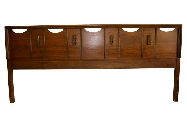 Midcentury Headboard, King