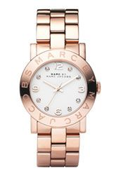 """MARC by Marc Jacobs """"Amy"""" crystal watch"""