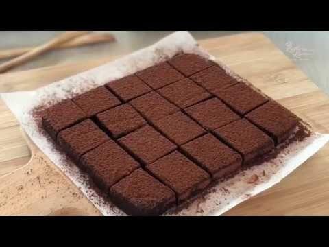 Homemade Nama Chocolate 生巧克力 YouTube Chocolate, My