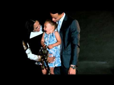 Watch this sweet new Steph Curry interview about his daughter Riley - SBNation.com