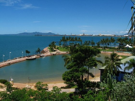 Townsville, Queensland - lived there as a child for awhile - went back 40 years later for a visit!