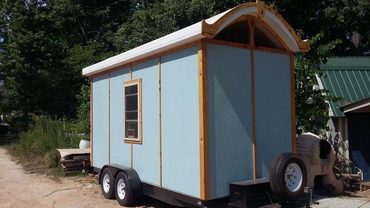 8'x16' Custom Tiny House on wheels - Tiny House Listings