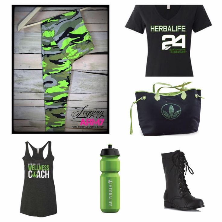 Share with some friends that sell Herbalife since these perfectly match their promo gear. http://leggingarmy.com/#KimzLeggings
