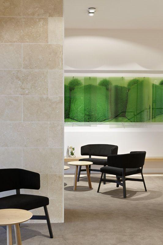 Foyer. The Claremont - Bird de la Coeur Architects Interiors Hassell Photo Dianna Snape
