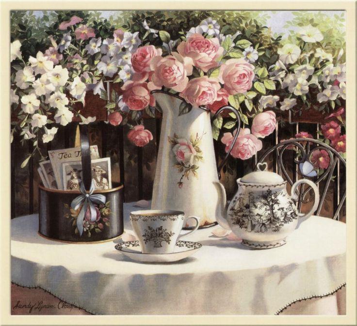 Картинки для декупажа. Чайная тема. Обсуждение на LiveInternet - Российский Сервис Онлайн-Дневников