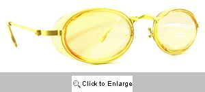 Nifty 80s Sport Sunglasses - 228 Yellow