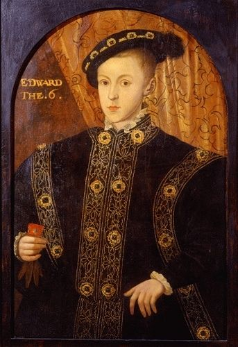 King Edward VI - King Henry VIII's only surving son.