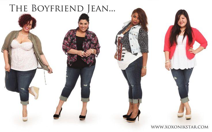 Bloggers in Torrid Boyfriend Jean