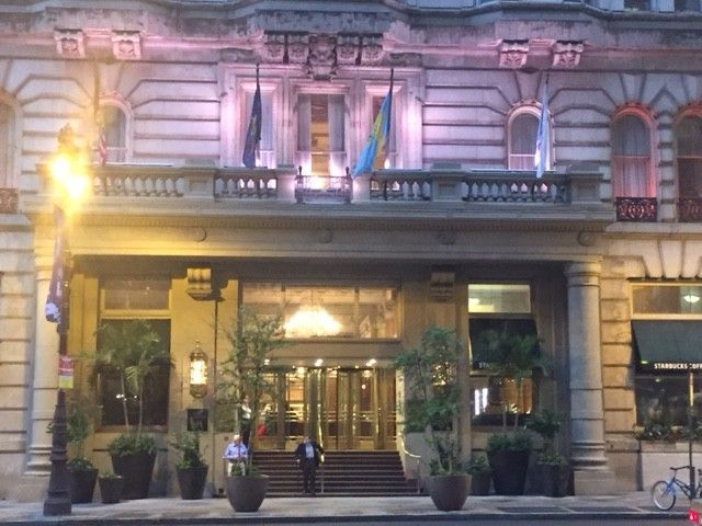 John and I were recently in Philadelphia to check out the hotel scene and had the opportunity to stay at the Hyatt at The Bellevue. The Bellevue has a very
