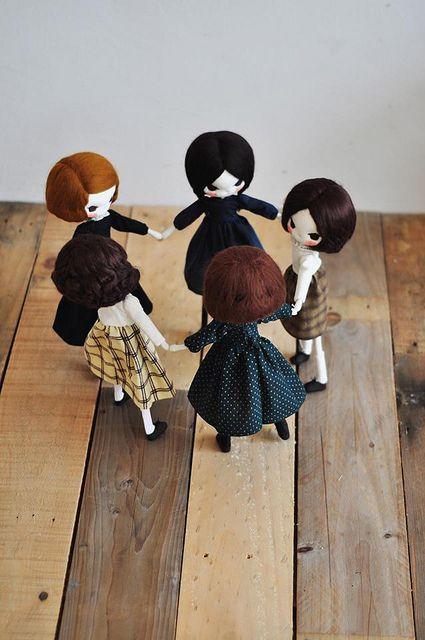 Evangelione handmade dolls