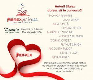 LIBREXperience - Brasov - intalnire cu autorii preferati de la editura Librex