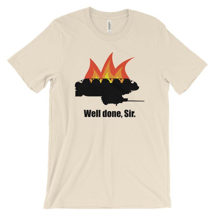 Well done, Sir. - Unisex t-shirt