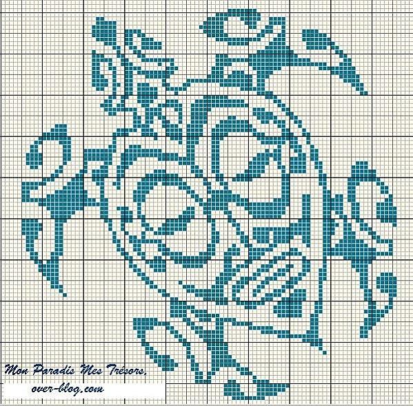 Grid turtle maori