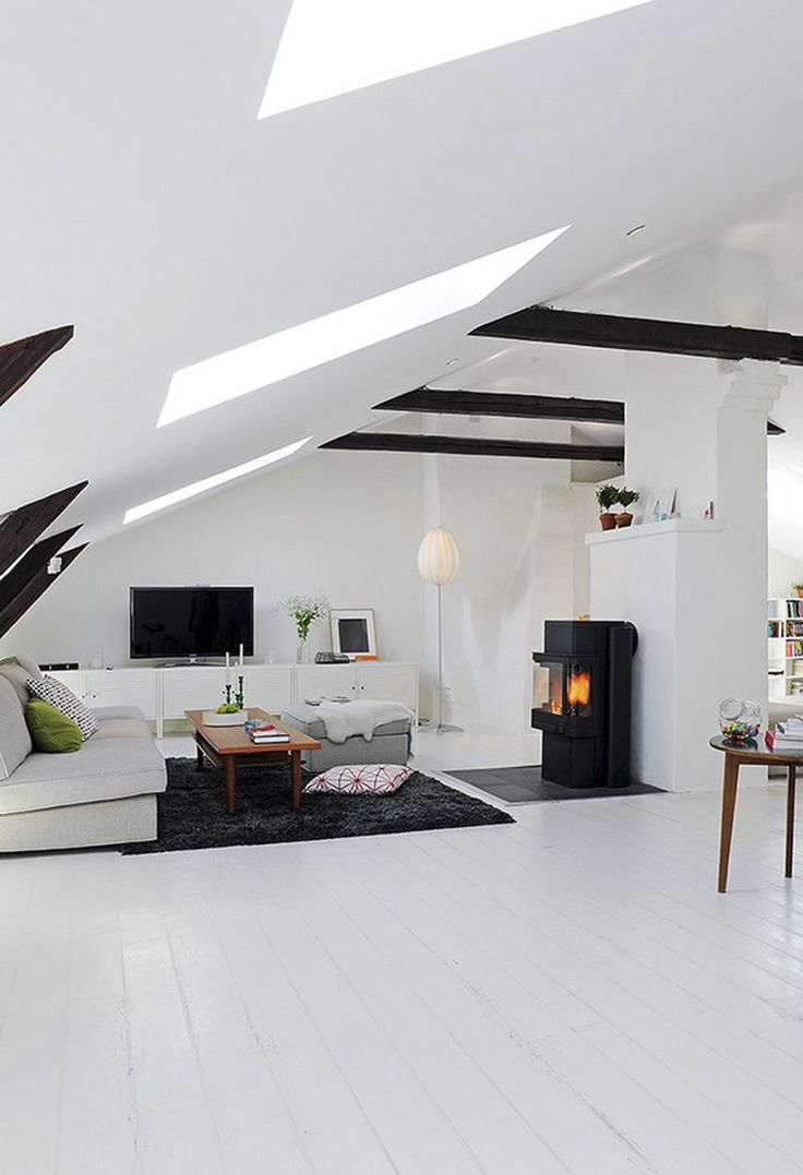 Scandinavian Duplex Apartment Living Room Area – Interior Design: Interior Design Styles, Scandinavian Home Decor, Scandinavian Color Schemes