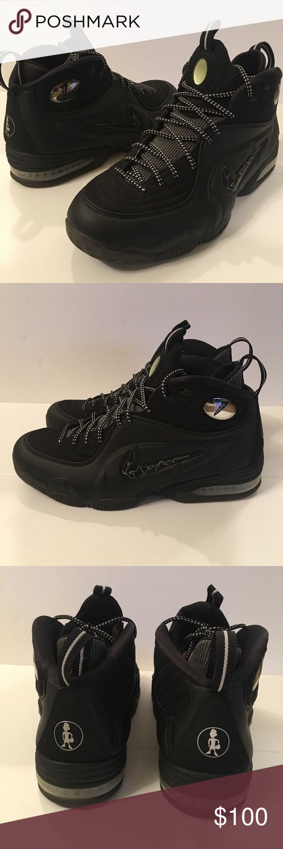 Nike Air Penny 1/2 Cent men's size 11 Nike Air Penny 1/2 Cent men's size 11. Foamposite and Suede Upper. Great condition, comes in Original box. Nike Shoes Athletic Shoes
