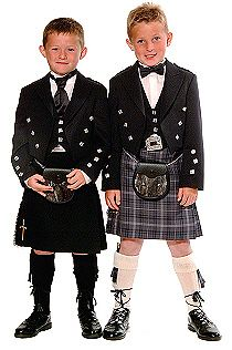 Cute!  The outfit on the left will be like what my ring barer will be wearing :) Irish men are so very handsome  ~~♥~~