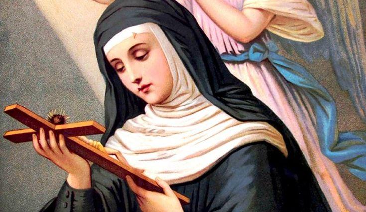 O cara Santa Rita, nostra Patrona anche nei casi impossibili e Avvocata nei casi disperati, fate che Dio mi liberi dalla mia presente afflizione......., e