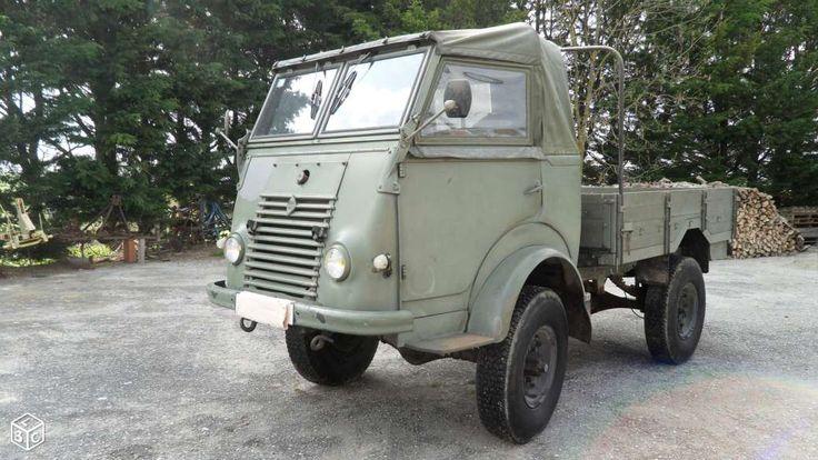 Camion militaire 4x4 renault ( an 1963 ) bon état ...