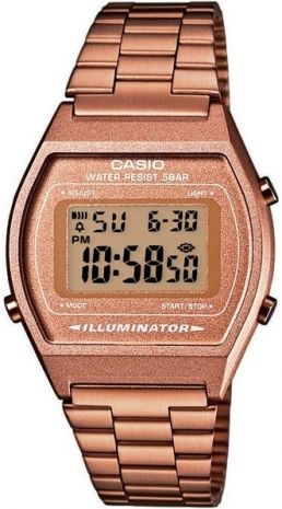 56ca3204ed0e Relógio Casio Vintage Digital B640wc-5adf Rose