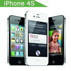Apple iPhone 4S Original Unlocked 3G WIFI GPS 8GB Smartphone Grade A-Black