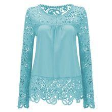 2016 camicie donna camicette di pizzo renda floreale o-collo casuale 5xl plus size tops blusas femininas donna camicetta di grandi dimensioni(China (Mainland))