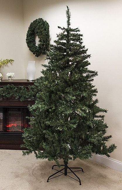 foot artificial christmas tree item tree features a mixture of and two tone light and dark green tips this unique mixture creates f - Unique Artificial Christmas Trees