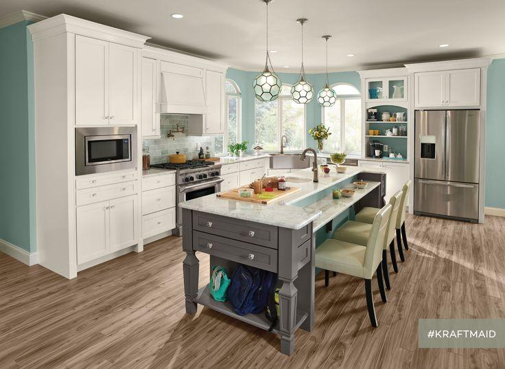Kitchen Island Kraftmaid 114 best kraftmaid images on pinterest | dream kitchens, kitchen