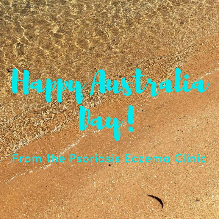 Happy Australia Day! From the Psoriasis Eczema Clinic