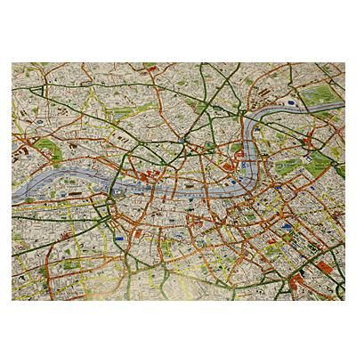 London Street Map Wrapping Paper